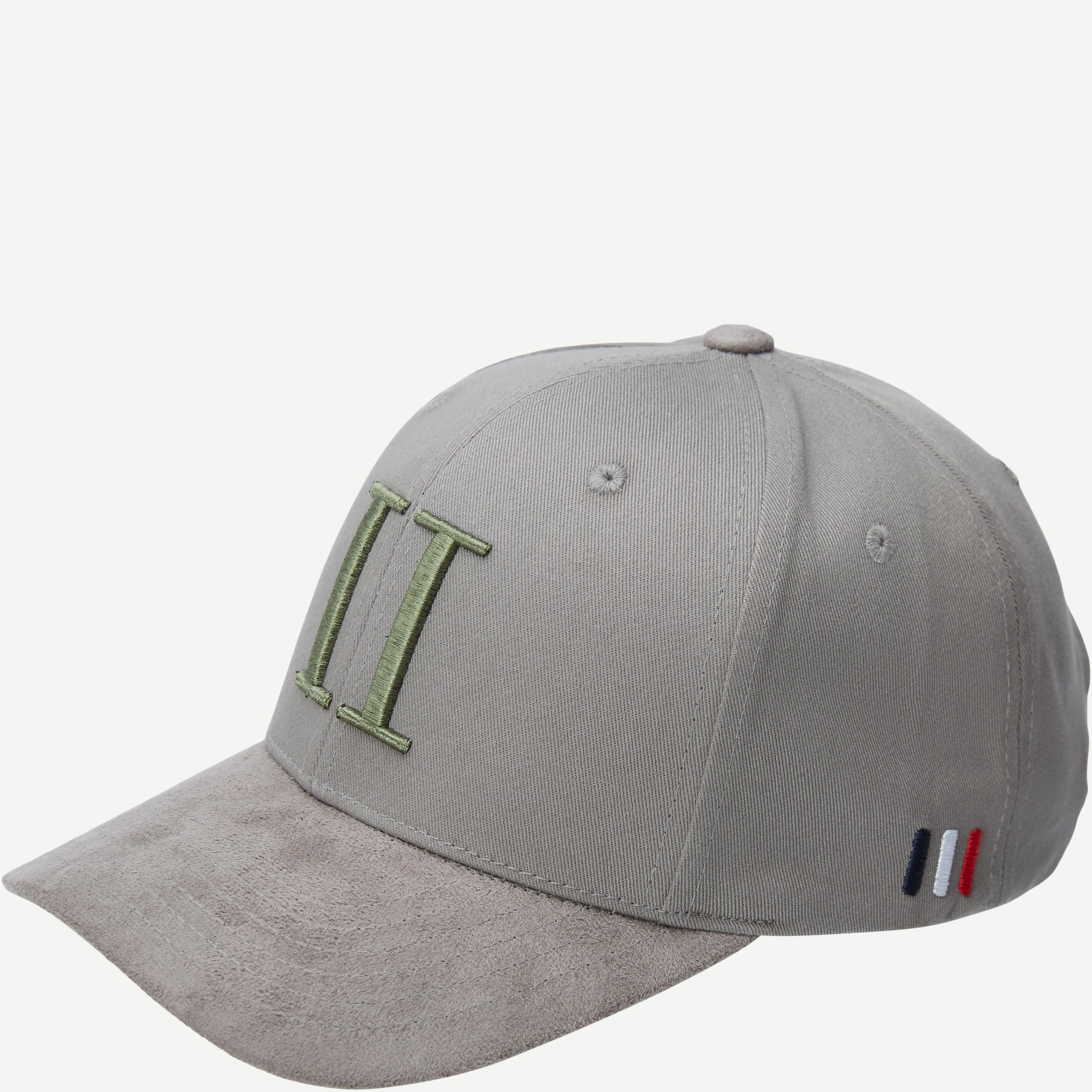 Baseball Cap Suede II - Caps - Grå